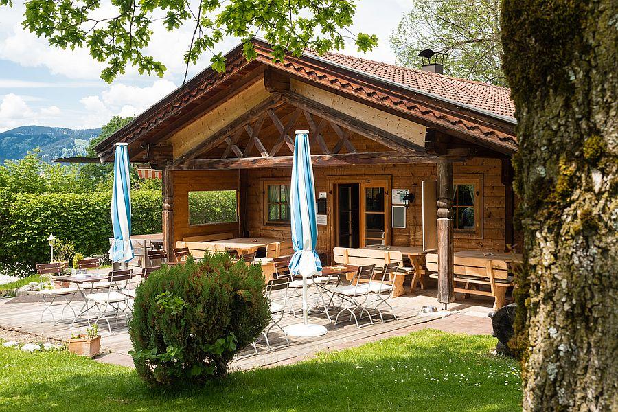 Clubhaus 6-Loch-Anlage